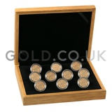 Ten Sovereign Gold Coins in Gift Box (2020)