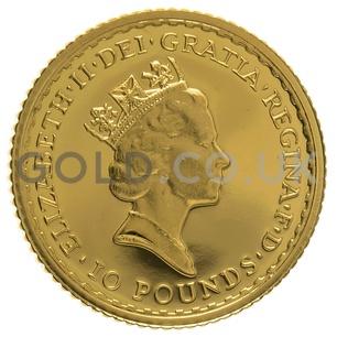 1990 Tenth Ounce Proof Britannia