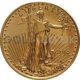 2014 1/10 oz Gold America Eagle