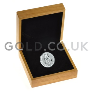 Boxed The Black Bull of Clarence - 2oz Silver Coin