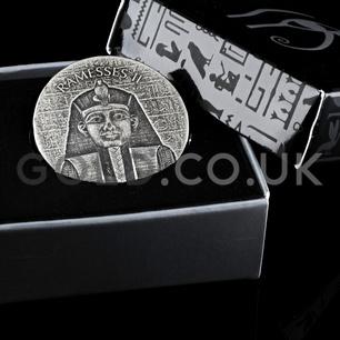 Ramesses II 2-Ounce Silver Coin (2017)