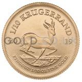 Gold Krugerrand 1/10oz (2019)
