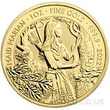 Maid Marian 1oz Gold Coin (2022)