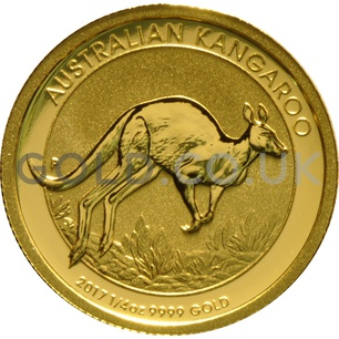 Gold Nugget Quarter Ounce (2017)