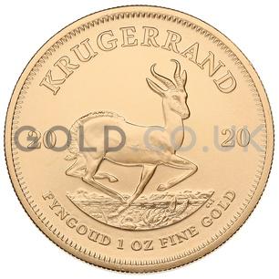 Gold Krugerrand 1oz (2020)