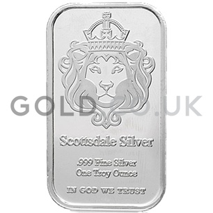 Scottsdale 1oz 'The One' Silver Bar