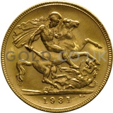 1931 George V Gold Sovereign (Perth Mint)