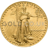 1987 1 oz Gold America Eagle