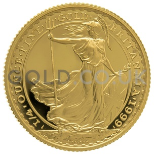 1999 Quarter Ounce Proof Britannia