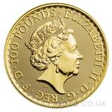 Tube of 10 x 1oz Gold Britannias