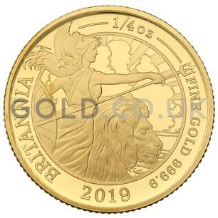 Quarter Ounce Proof Britannia (2019)