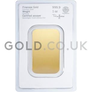 1oz Heraeus Gold Bar