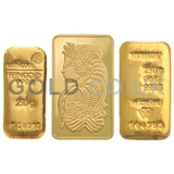250g Gold Bar (Best Value)