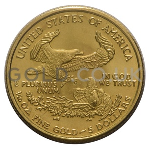 2005 1/10 oz Gold America Eagle