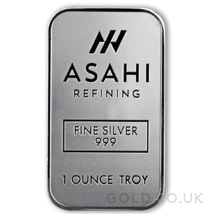 Asahi 1oz Silver Bar