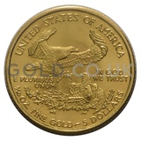 2001 1/10 oz Gold America Eagle