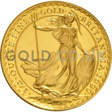Half Ounce Gold Britannia (Best Value)