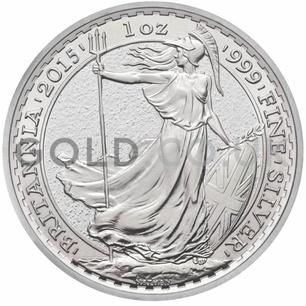 Storage - VAT Free 1oz Silver Britannia