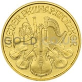 Gold Philharmonic Tenth Ounce Coin (2020)