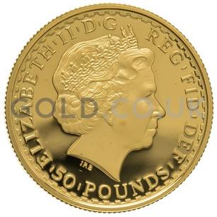 2007 Half Ounce Proof Britannia