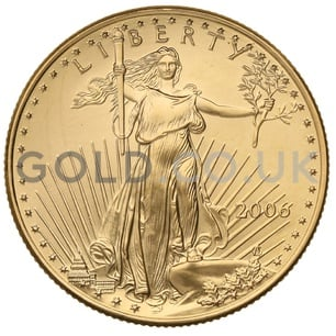 2006 1/2 oz Gold America Eagle