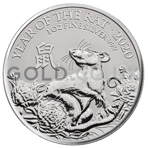 Silver 1oz Year of the Rat (2020)
