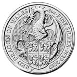 2oz Silver Coin - The Red Dragon