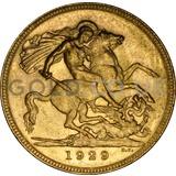 Gold George V Sovereign P (1929)