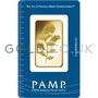 1oz PAMP Rosa Gold Bar