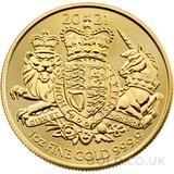 Royal Arms 1oz Gold Coin (2021)
