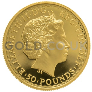 1999 Half Ounce Proof Britannia