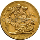 1925 George V Gold Sovereign (South Africa Mint)