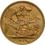 1959 Elizabeth II Young Head Gold Sovereign