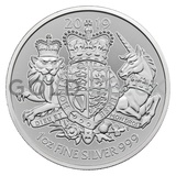 1oz Silver Royal Arms Coin (2019)