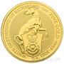 Gold 1oz White Greyhound of Richmond Coin (2021)