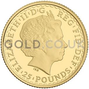 2009 Quarter Ounce Proof Britannia