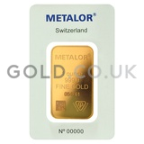 1oz Metalor Gold Bar