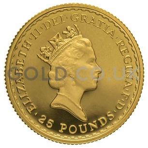 1993 Quarter Ounce Proof Britannia