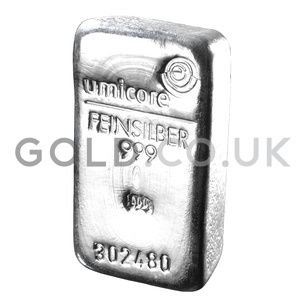 500g Silver Bar (Best Value)