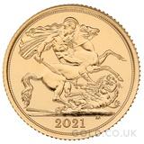 Gold Half Sovereign (2021)