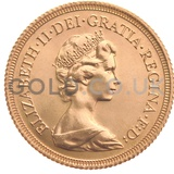 Elizabeth II, Decimal Head - Gold Sovereign