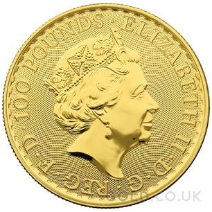 Britannia One Ounce Gold Coin (2021)