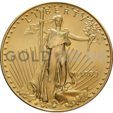 1993 1 oz Gold America Eagle
