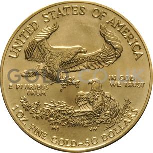 2017 1 oz Gold America Eagle