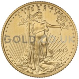 2015 1/10 oz Gold America Eagle