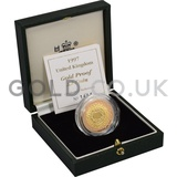 Gold Proof Two Pound - Technologies Coin Boxed (1997)