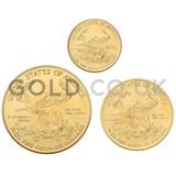 Three Coin Eagle Set Gift Boxed (2020)