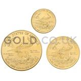 Three Coin Eagle Set Gift Boxed (2020)
