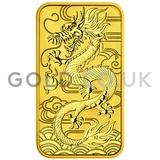 1oz Dragon Rectangular Coin (2018)