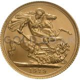 1979 Elizabeth II Decimal Head Gold Sovereign